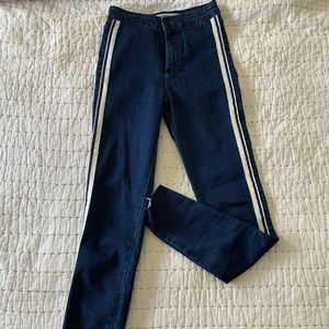 Zara Trafaluc Jeans Collection. Shinny. Size 02
